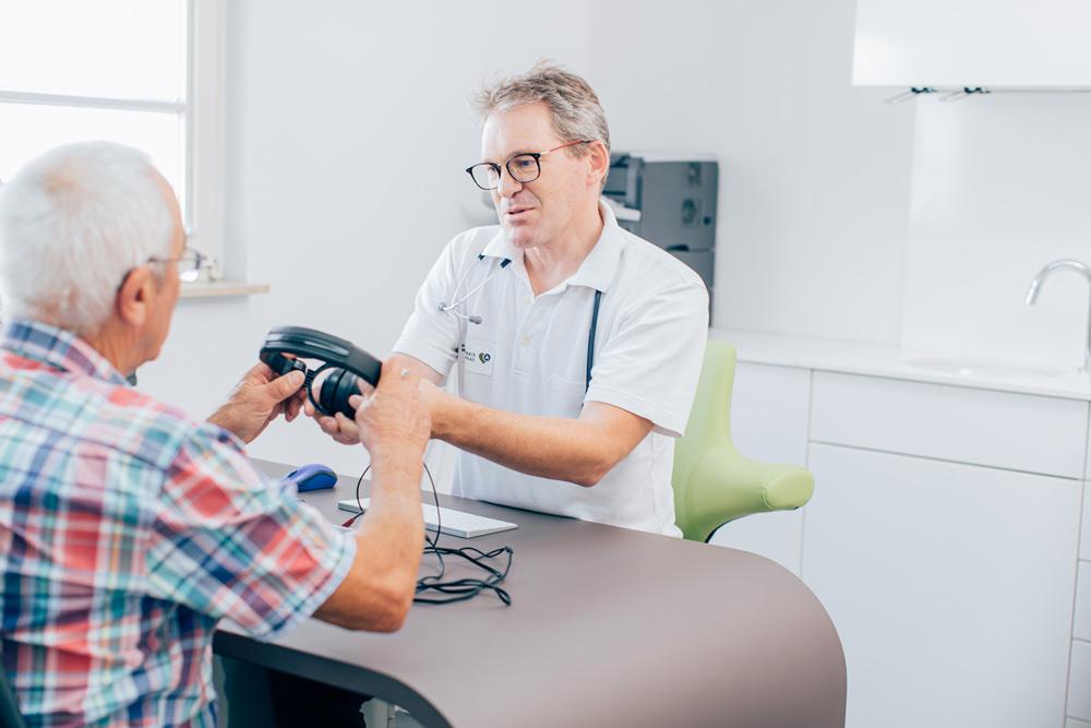 Dr. Matthias Conrad - Arbeits- und Allgemeinmedizin - Arzt und Patient